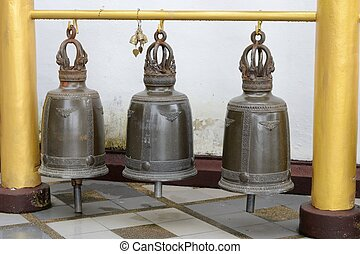 Three Bells in rows