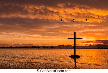 Three Birds Cross