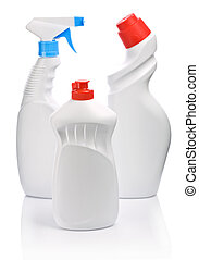 three bottle for cleaning