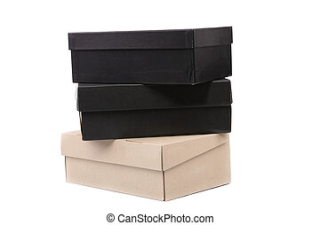 Three boxes.