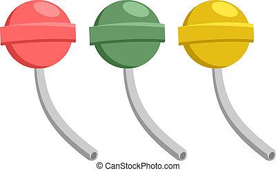 Three caramel