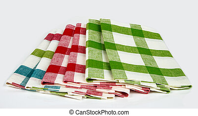Checkered Dishcloth