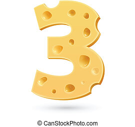 Three cheese number