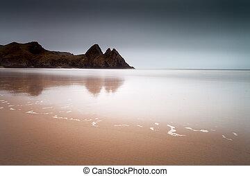 Three Cliffs Bay Gower