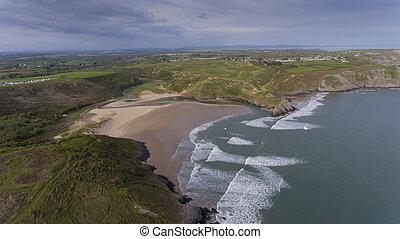 Three Cliffs Bay South Wales