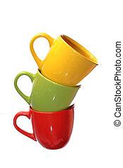 Three color cup