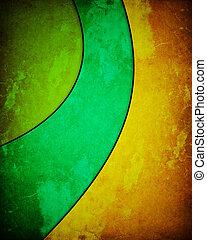 three-color, grunge, tło
