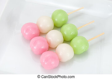 Three colors Dango
