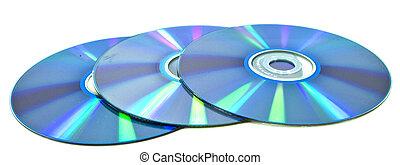 Three compact disks