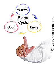 Three components of Binge Cycle
