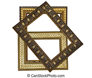Three Decorative Frames