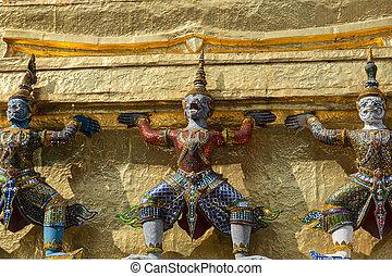Three demons Yaksha
