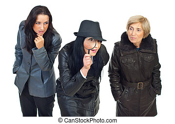 Three detectives women