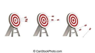 targets with arrows