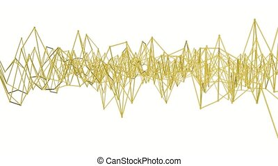 three-dimensional., deformable, abstrakt, rendering., 3d