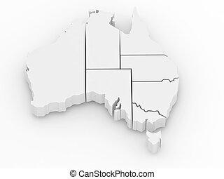 Free 3d Map Of Australia.Australia Map 3d Illustrations And Clip Art 3 810 Australia Map 3d
