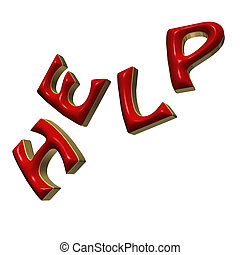 Three-dimensional word Help - The three-dimensional word...