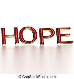 Three-dimensional word hope