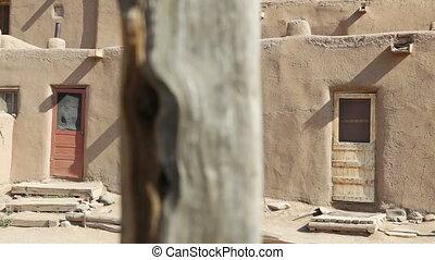 Three Doors, Taos Pueblo