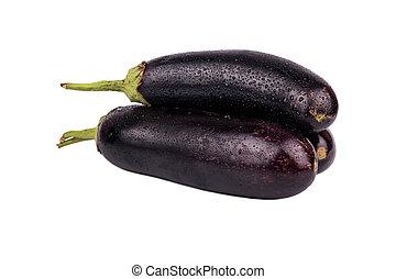 Three eggplant