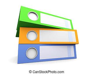 Three Folders