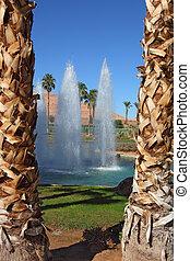 Three fountain