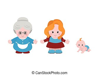 Three generations. Women of different ages