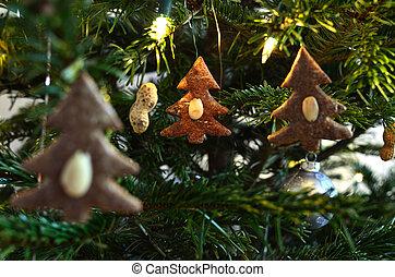 Three Gingerbread Trees