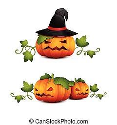 three halloween pumpkin-01