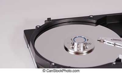 Three HDD with different details - Three hard disk drives...