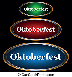 Three icons Oktoberfest