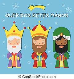 three kings of orient