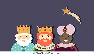 Three Kings with star