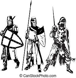 knights - three knights