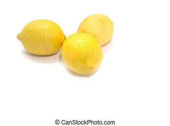 Three lemons.