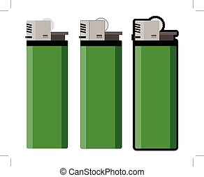 three lighters
