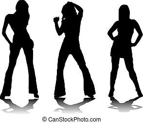 three party girls