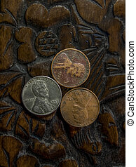 Three Pennies