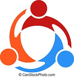 vector logo three people rh canstockphoto com vector logo maker vector logo file
