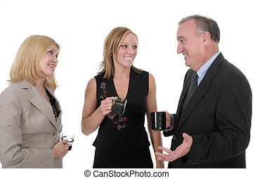 Three Person Business Team 3