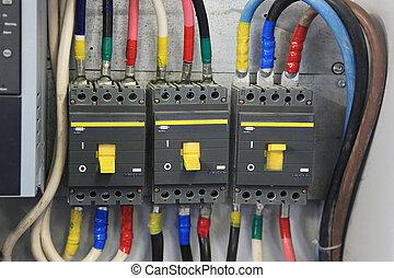 three-phase circuit breakers - 200 Amp Circuit Breaker three...