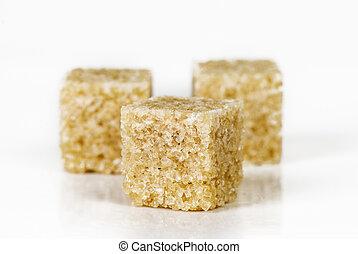 pieces of cane sugar