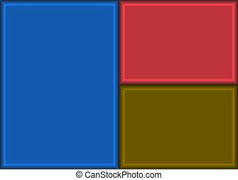 Three Rectangles Background