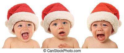Santa Christmas babies