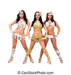 Three sexy girls