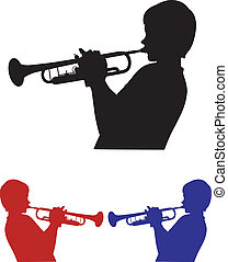 three shades of trumpeter - shadow of a trumpet
