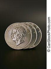 Three Silver Dollars