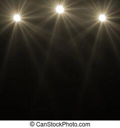 stage spot lighting