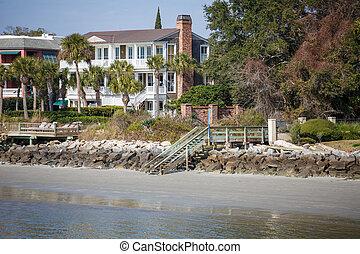 Three Story Coastal Home