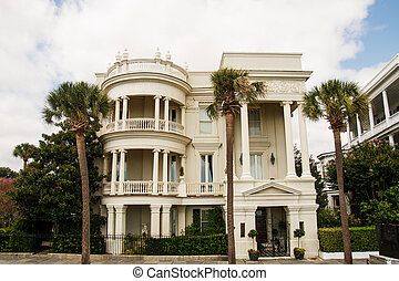 Three Story Columned Colonial